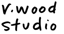 r.wood studio's logo