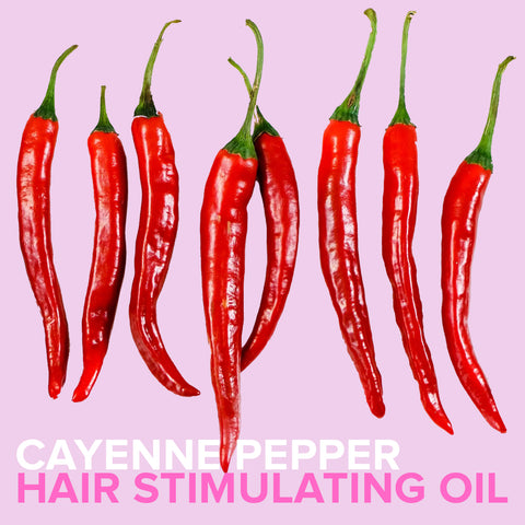 CAYENNE PEPPER HAIR STIMULATING OIL