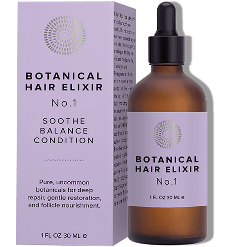 No.1.  Botanical Hair Elixir (Nourishing)