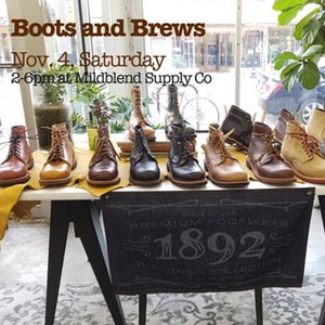 Thorogood 1892 Boots and Brews Event