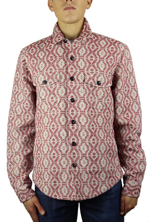 Kato Shirt Jacket Native Red