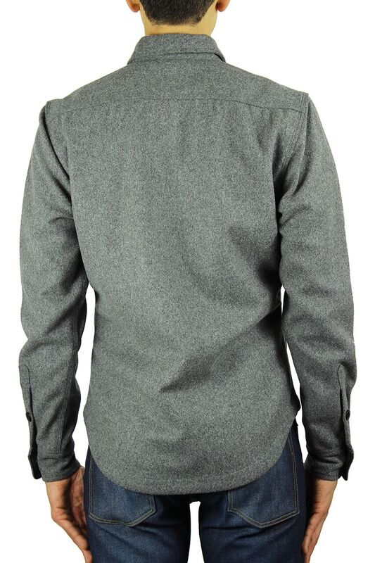 Kato Shirt Jacket Grey
