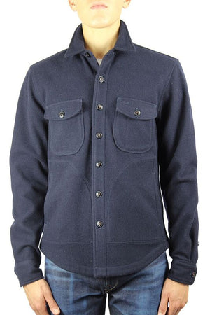 Kato Shirt Jacket Navy