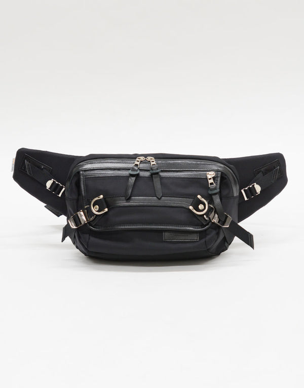 Master-Piece Potential Sling Bag in Black