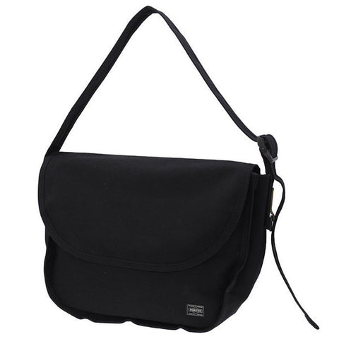 Porter Stain Shoulder Bag Black
