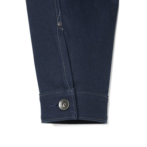 Stevenson Overalls Slinger Jacket in Navy Canvas