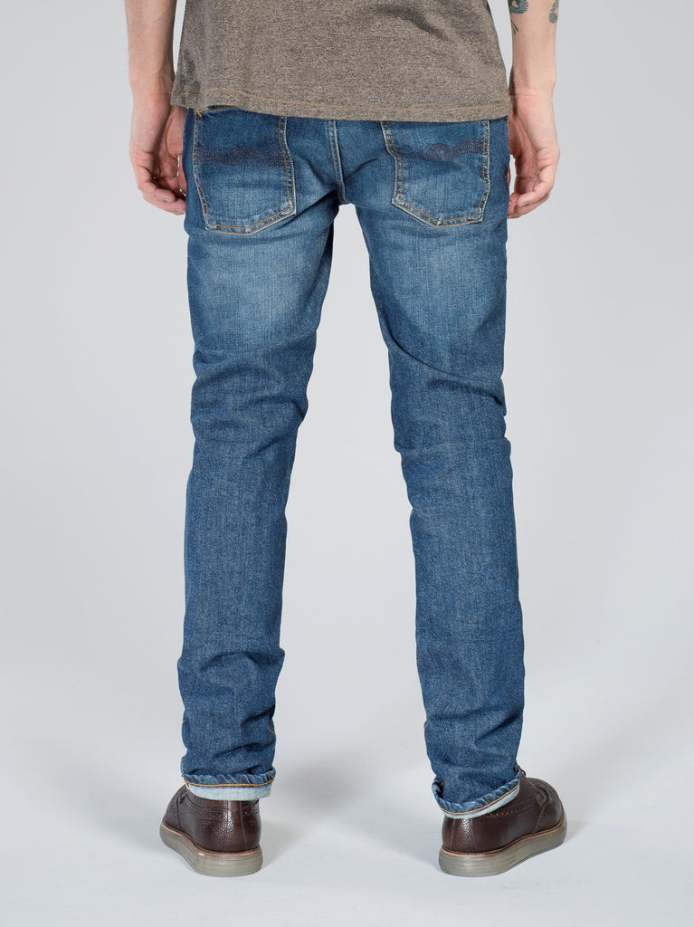 Nudie Jeans Grim Tim Foggy Dust