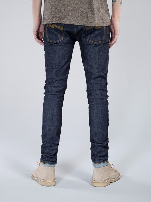 Nudie Jeans Skinny Lin Rinsed Open Orange
