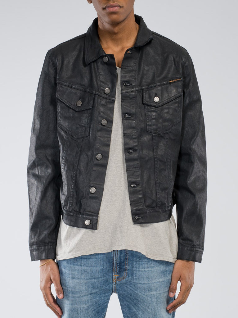 Nudie Jeans Perry Org. Back 2 Black Jacket