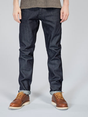 Nudie Jeans Steady Eddie Dry Greytone Selvage