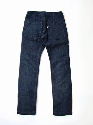 Pure Blue Japan Indigo Sashiko Work Pants