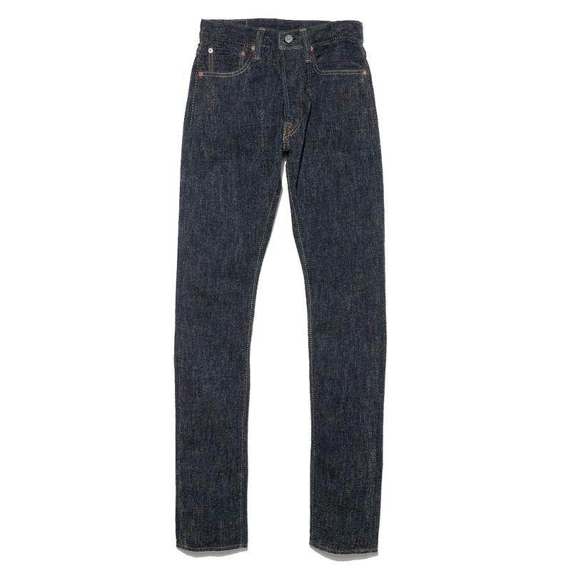 Pure Blue Japan Cotton Chenille Relaxed Taper Jeans