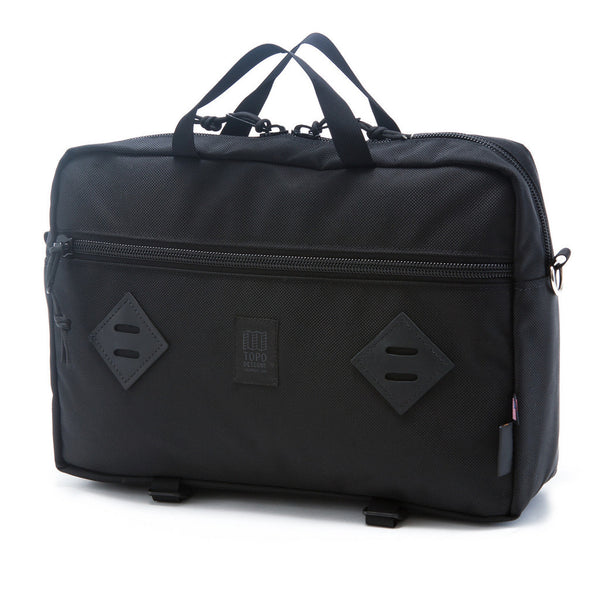 Topo Designs Mountain Briefcase Ballistic Black