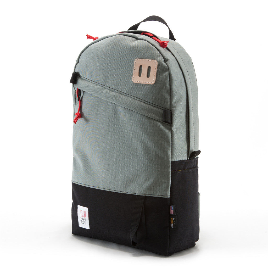 Topo Designs Daypack in Silver/Black