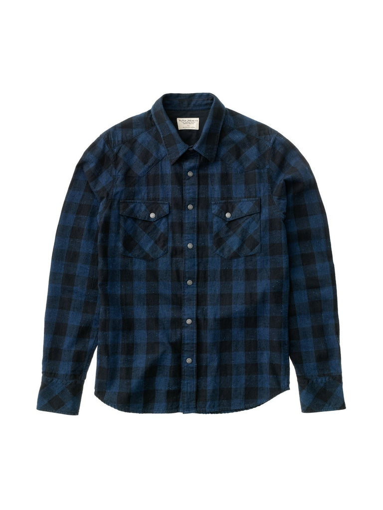 Jonis Graphic Check Black/Indigo