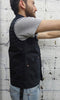Mercy Supply Co. Waxed Work Vest Black