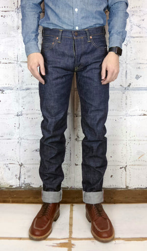 Mildblend Supply Co. X Momotaro 14.7 with Arc in Indigo