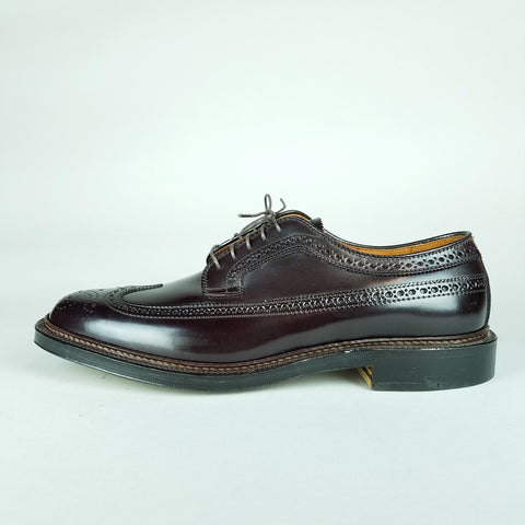 Alden 975 Shell Cordovan Long Wing Blucher