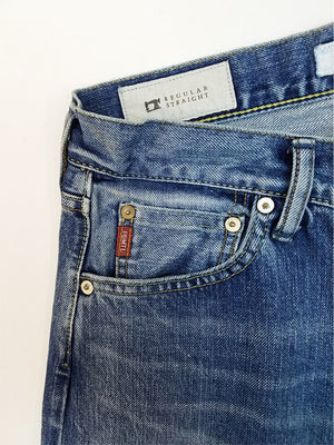 FDMTL Patchwork Japanese Selvedge Denim