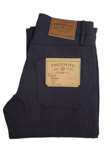 Freenote Cloth X Mildblend Supply 14.75oz Indigo Warp/ Black Weft in Rios