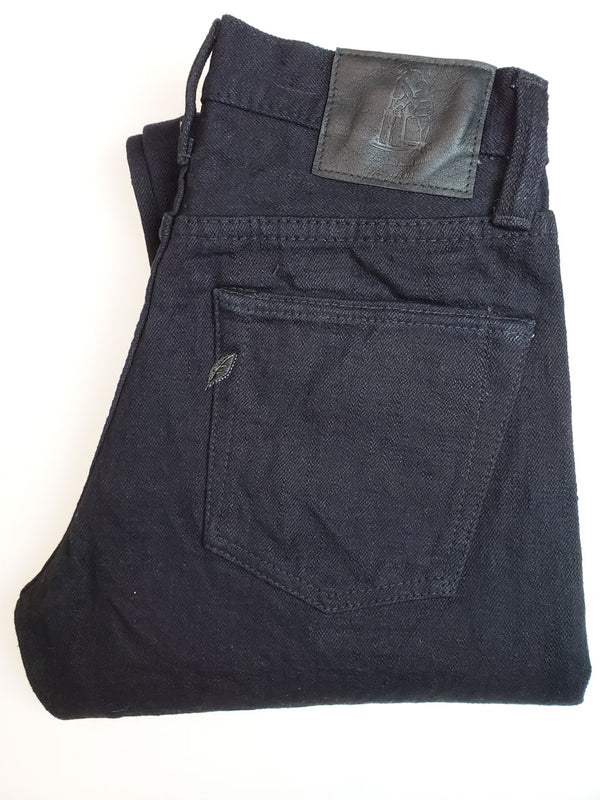 Pure Blue Japan xx-019 18oz Indigo Black