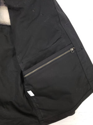 3sixteen Waxed Hunting Jacket Black