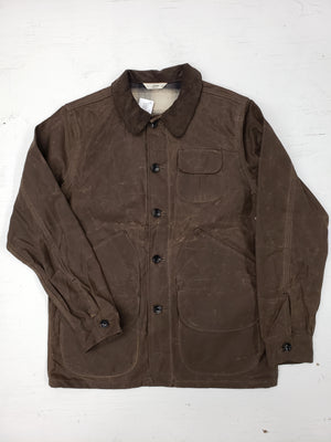 3sixteen Waxed Hunting Jacket Field Tan