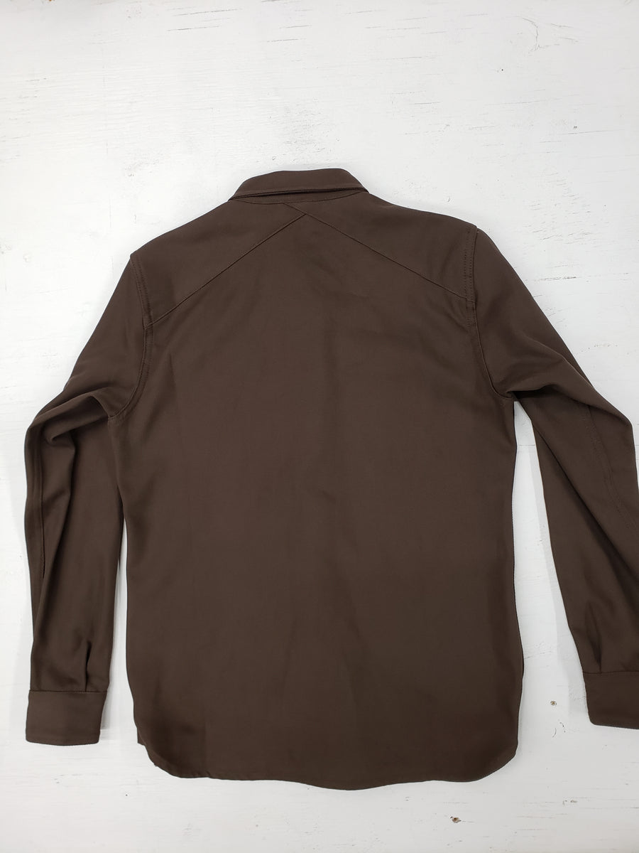 3sixteen CPO shirt brown twill