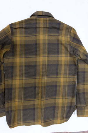 Rogue Territory Service Shirt Brown Plaid