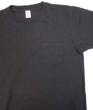 Velva Sheen 2 Pack Black Pocket T-Shirts