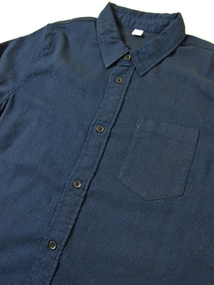 Pure Blue Japan Sashiko Shirt