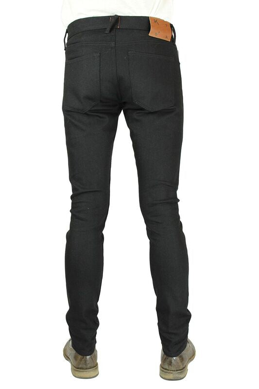 Kato' Brand The Needle Skinny 4 Way Raw Black