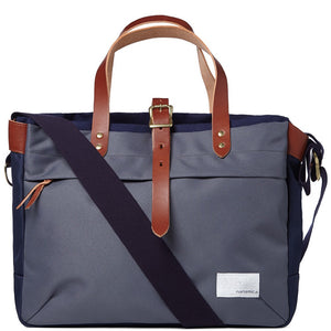 Nanamica Briefcase Grey/Navy