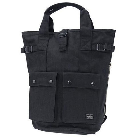Porter Smoky 2 Way Rucksack Black