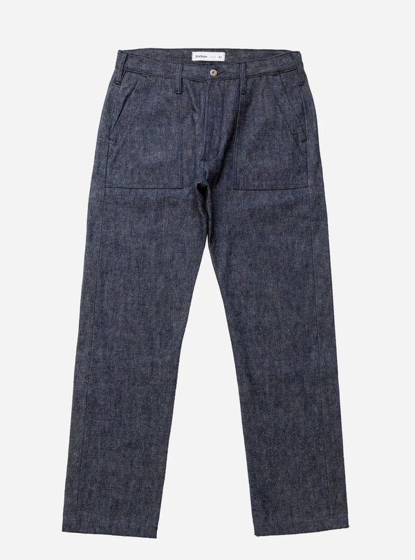 3sixteen Fatigue pant indigo/white