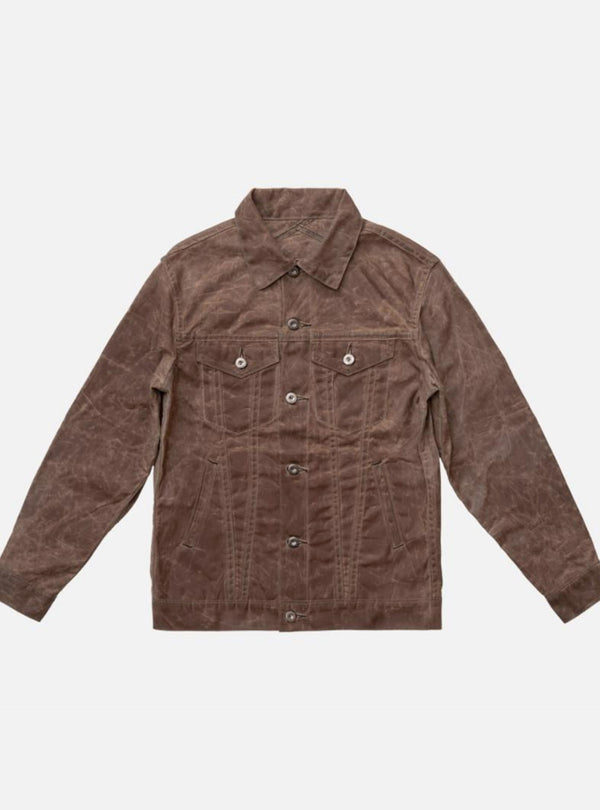 3sixteen Type 3 Waxed Jacket Tan