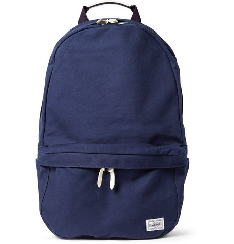 Porter Colorama Canvas Rucksack Navy