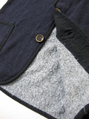 Pure Blue Japan Indigo Fleece Cardigan