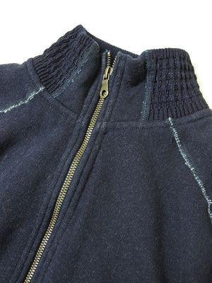 Pure Blue Japan Indigo Full Zip Sweatshirt