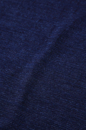 Pure Blue Japan Slub Indigo Jersey 5383