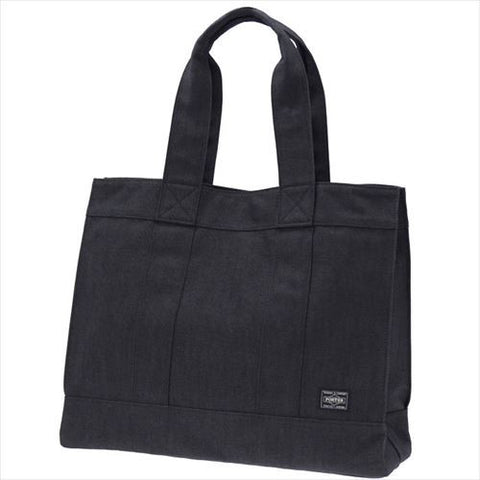 Porter Smoky Tote Bag Black