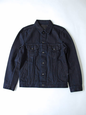 Pure Blue Japan Deep Indigo Type 3 Jacket 6087