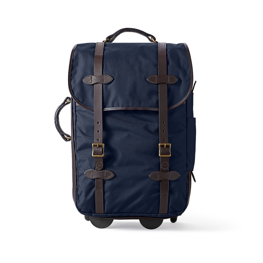 Filson Rolling Carry On Bag in Navy