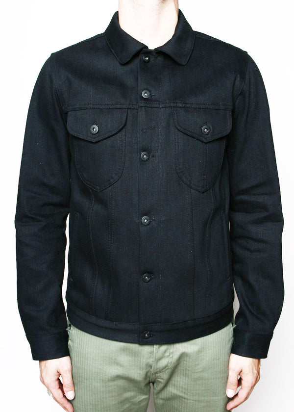 Rogue Territory Type III Jacket 17oz Slub Stealth