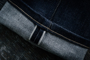 Freenote Cloth X Mildblend Supply 14.75oz Cone Broken Twill Indigo in Rios