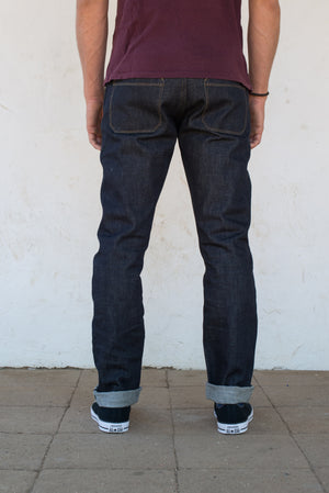 Freenote Cloth X Mildblend Supply 14.75oz Cone Broken Twill Indigo