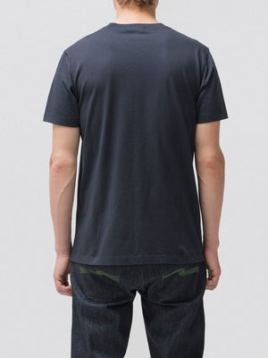 Nudie Jeans Daniel Green T Navy