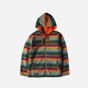 Element X Nigel Cabourn Alder Blanket Fleece Reversible