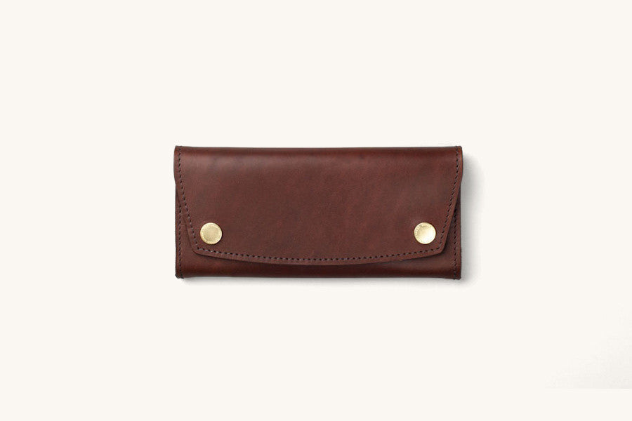 Tanner Goods Tradesman Wallet Dark Oak