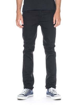 Nudie Jeans Grim Tim Dry Cold Black